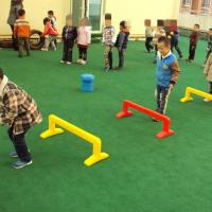Buy cheap Backyard 25mm Artificial Grass Soft Safe Kindergarten Play Area Support product