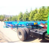 China Flatbed Semi Trailer Trucks on sale