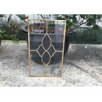 Buy cheap Clear Cabinet Door Glass Panels , Various Shape Decorative Glass For Kitchen Cabinets product