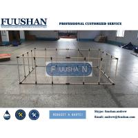 Fuushan Hot Selling Aquarium Foldable Fish Farm Tank, Koi Showing Tank, Plastic Bucket for Fish Breeding