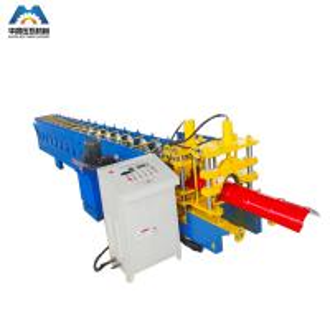 Buy cheap Metal Roof Profile Ridge Cap Roll Forming Machine / Ridge Tile Machine 380V 50Hz product