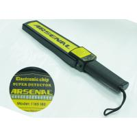 Cheap Light Weight Portable Hand Wand Metal Detector For Personal Security Inspection wholesale