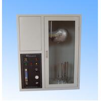 EN137 Fire Testing Equipment , Mask Flame Resistance Flammability Test Chamber