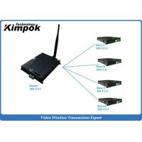 Buy cheap TDD COFDM IP Mesh Video + Audio + data Ethernet Transceiver Two-way Communication product