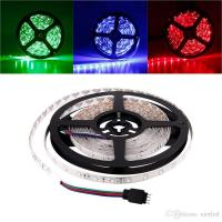 Buy cheap Waterproof/Non-Waterproof 5M/roll 3528 300LEDs SMD LED Strip Light Lamp DC 12V product