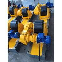 China Heat Exchanger Production 20T Tank Turning Rolls Heavy Duty Gearbox Double Driving on sale