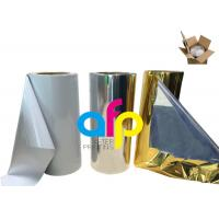 Buy cheap Various Color Metalized Polyester Film For Lamination 180 - 1300mm Roll Width product
