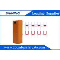 Floding / Fence Arm Electronic Security Parking Lot Barrier Gate For Driveway