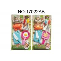 Buy cheap Harmless Childrens Toy Kitchen Sets for Pretend Play Cooking 10 Pcs 2 Assorted product