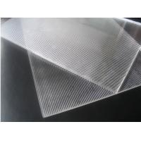 Buy cheap Super transparent PS 3d lenticular 1.2*2.4m 2mm 40lpi 3.95mm material for injekt 3d lenticular printing and UV flatbed product