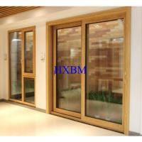 Buy cheap Triple Glazed Solid Wood Windows And Doors Highly Pressure Resistant product