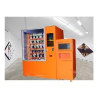 Buy cheap 24 Hours Fast Food Vending Machine With Microwave Oven And Refrigerator from wholesalers