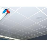 Buy cheap Straight Edge Lay In Ceiling Panels 603*603mm PE / PVDF Powder Coating from wholesalers