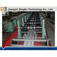 China High Speed Rack Roll Forming Machine 380V 50Hz For Shelf 75mm Shaft Diameter on sale