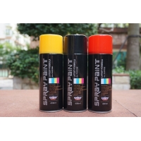 Buy cheap Fast Dry 400ML Bright White Spray Paint Black Lacquer Paint For Wood product