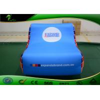 Buy cheap Waterproof White Giant Inflatable Shapes Sleeping Sofa Chair / Sofa Bed For Rest product
