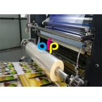 Buy cheap Water Based Laminate Cold Laminating Film , Multiple Extrusion BOPP Plastic Film product
