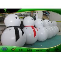 Buy cheap 1M High Inflatable Holiday Decorations Christams Outdoor PVC Snowman Decoration Light product