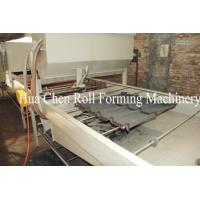 Buy cheap Metal Stone Coated Tile Forming Machine 110kw PLC Control product