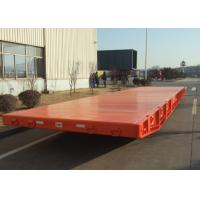 Buy cheap Large Capacity 40 Foot Flatbed Mafi Roller Trailer For Roll Roll Shipment product