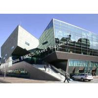 Buy cheap Hidden Frame Pre - glazed Double Layer Glass Façade Curtain Wall With Heat Installation product