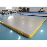 Buy cheap Double Triple Stitching 4x2x0.2m Inflatable Air Tumble Track product