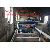 Automatic Swing Wire Fence Mesh Welding Machine Smooth Mesh Surface , Saving