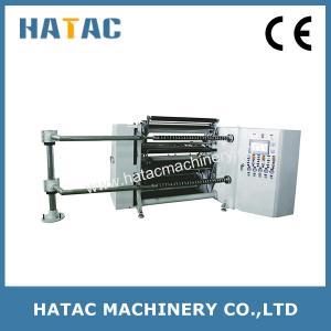 China High Precision Cellophane Paper Converting Machine,CAD Film Slitter Rewinder,PET Film Slitting Rewinding Machine on sale