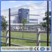 Buy cheap ISO/CE certificated galvanized and PVC coated Welded Wire Mesh Fence(Guangzhou from wholesalers