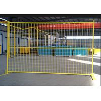 Galvanized Temporary Fencing For Construction Site / Portable Barriers Fencing
