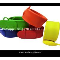 Buy cheap Debossed silicone slap band wide slap bracelet & silicone slap wristbands from wholesalers