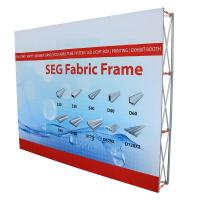 Buy cheap 10'Wx8'H Size pop up display stands , Portable Backdrop Stand TE-4YS-0403 product