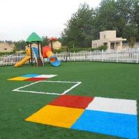 Buy cheap Children Play Ground Laying Synthetic Turf Ground Cover Soft Non Toxic product