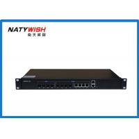 Buy cheap Triple - Play OLT Optical Line Terminal , Black Color 4 Ports 1.25G Small OLT GEPON product