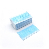 Buy cheap 50pcs Packed Anti Bacterial 3 Ply Disposable Medical Face Masks from wholesalers