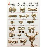Buy cheap Popular Nickel Sparkling Zinc Alloy Buckle , Small Shoe Buckles For Woman from wholesalers