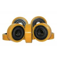 Buy cheap 127 * 60mm Polyurethane Wheels With Bearings As Industrial Forklift Casters product