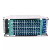Buy cheap 72 Core Fiber Distribution Frame With Large Capacity Rack Mount Sliding Type product