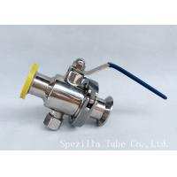 Buy cheap Dn25 Tp316l Threaded Ball Valve Bpe Valves Sanitary Valves And Fittings Polsihed product
