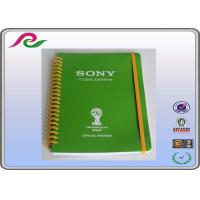 coated paper cover A5 / A3 / A4 Spiral bound Daily writing notebooks , 80 gsm