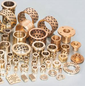 CuZn25AI5Mn4Fe3 Cast Bronze Sleeve Bearings Good Lubrication Feature