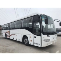 Buy cheap Low Kilometer Airbag Chassis Euro III Good Condition Double Doors Used Coach Bus Higer Brand Model KLQ6129 53 Seats product