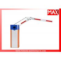 China 50hz 220v Parking System Barrier Gate Arm With Manual Release on sale