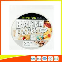 China Food Baking Paper Sheets Kitchen Perforated Parchment Paper For Household on sale