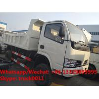 China Factory customized cheapest price CLW brand 4*4 RHD diesel dump tipper truck for sale, CLW dump pickup vehicle on sale