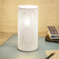Buy cheap 2018 Newest Cylinder iron mesh table lamp from wholesalers