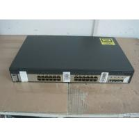 Buy cheap 4 SFP Ports Uplink Used Cisco 3750 Switch , Second Hand Cisco Equipment Catalyst from wholesalers
