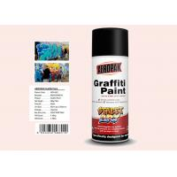 Buy cheap Plastic White Color Graffiti Spray Paint Fastest Dry TimeFor Indoor / Outdoor Projects product