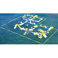 Buy cheap TUV Certification Giant Inflatable Floating Water Park For Sea / Aqua Park Supplier product
