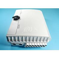Buy cheap 16 Core Outdoor Waterproof Fiber Optic Distribution Box / Closure Pc Material product